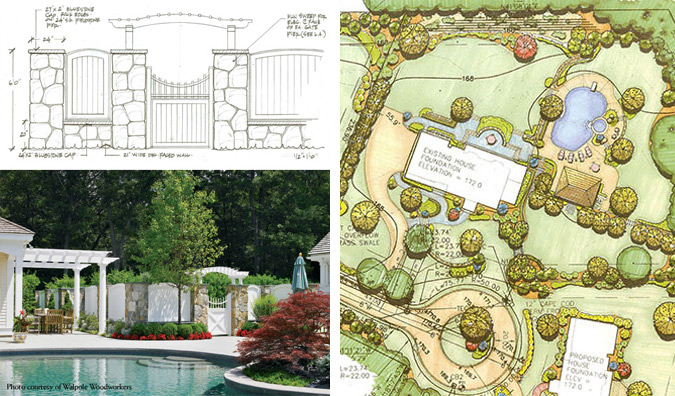Top Residential Landscape Architecture Firms : Residential landscape architecture custom pool design and landscaping